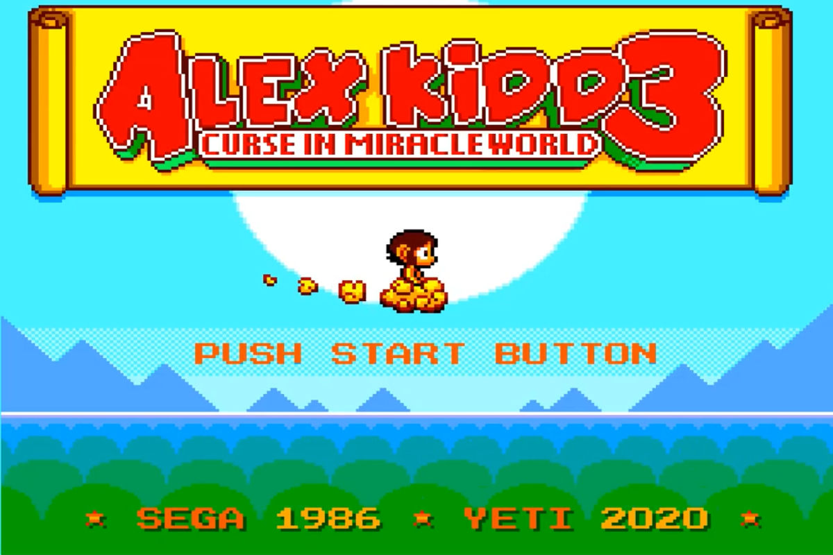 Alex Kidd 3 - Curse In Miracle World